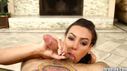 Throated Latina Luna Star