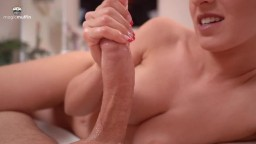 Amateursex - Plays with a big cock