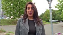 Deustsche Scout - Teenager Bonnie wird beim Casting gefickt