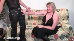 BBW- French cougar hard fisted and sodomized