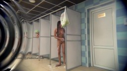 If you ever wondered what the girls in the shower room were doing.