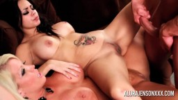 Alura Jenson Teaching Tya Quinn How to Properly Fuck